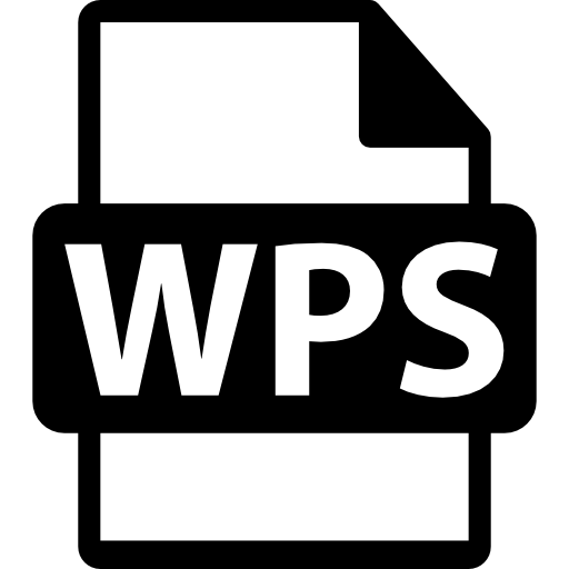 Wps Format Variant Icons Free Download
