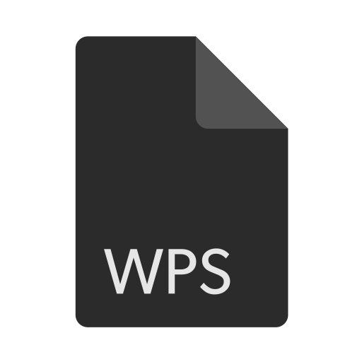 Extension, File, Format, Wps Icon