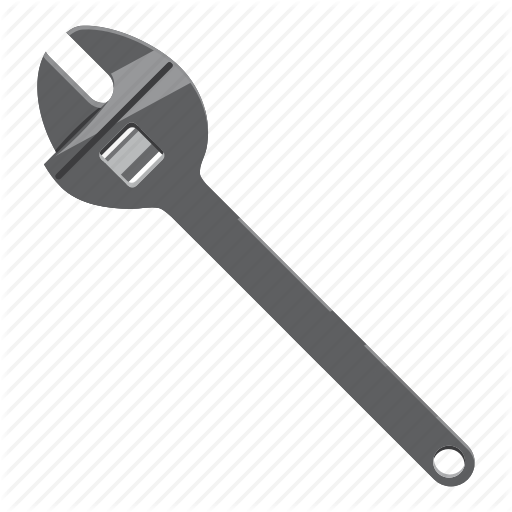 Adjust, Adjustment, Bolt, Build, Cartoon, Pipe, Wrench Icon