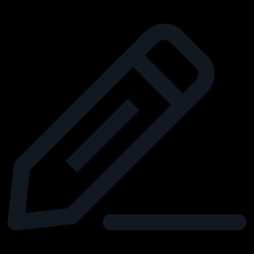Edit, Pen, Pencil, Write, Writing Icon Free Of Basic Ui