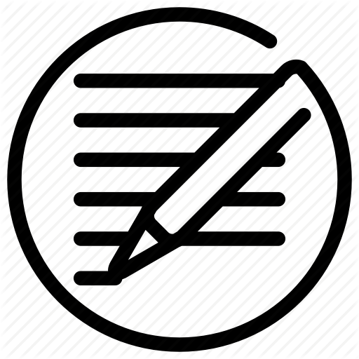 Edit, Text, Write, Writing Icon