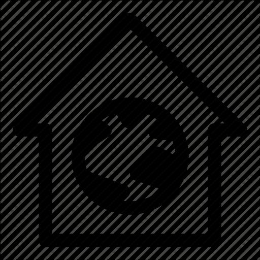 Home, Home Internet, Internet, Local, Localhost, Web, Icon