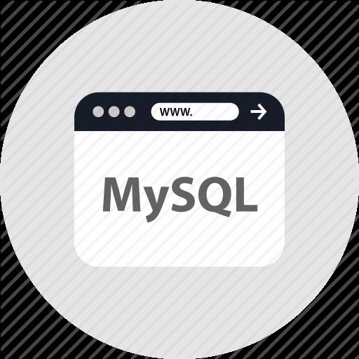 Code, Mysql, Icon