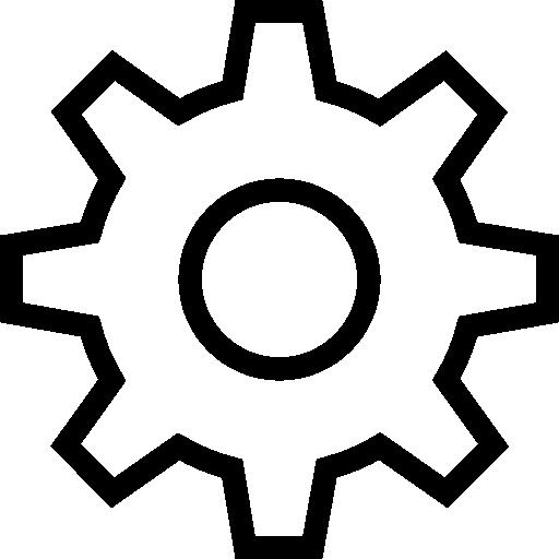 Settings, Vector Icon