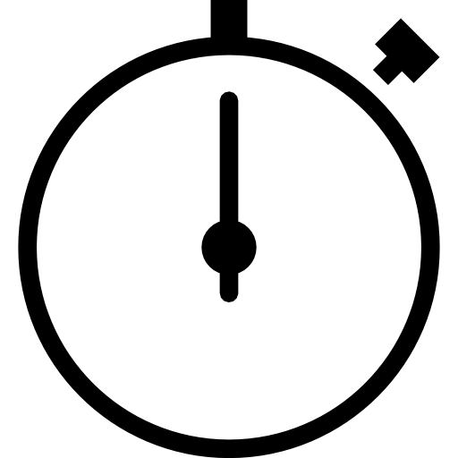 Stopwatch, Vector Icon