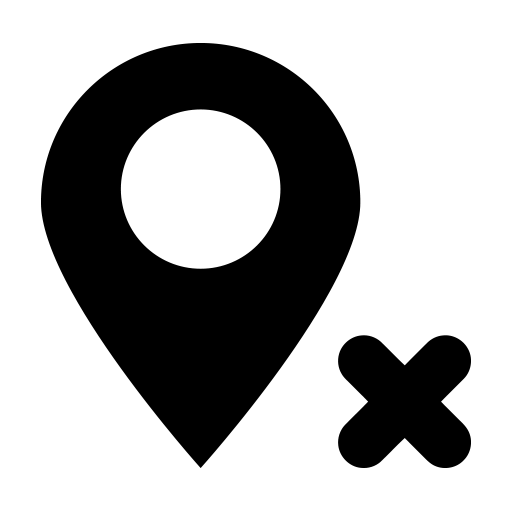 Delete Location Icon