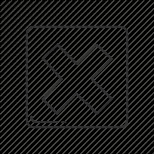 Cross Mark, Emoji, Squared Cross Mark, Squared X Mark, X, X Mark