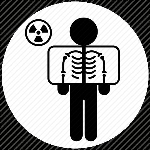 Interventional Radiology, Medicine, Person, Skeleton, X Ray Icon