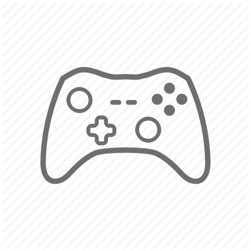 Console, Controller, Games, Gaming, Xbox, Xbox Xbox One Icon