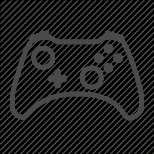 Controller, Xbox, Xbox Icon