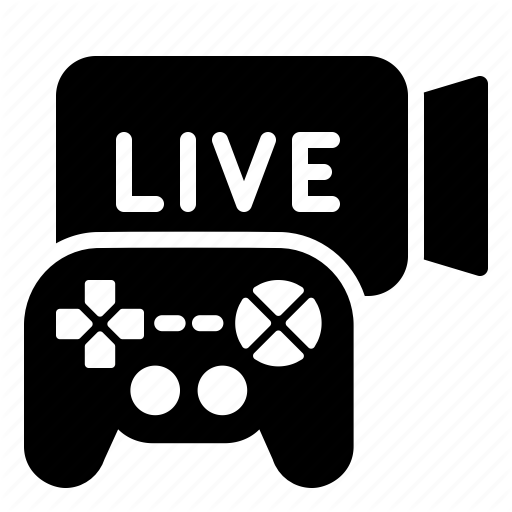 Game, Live, Streaming Icon