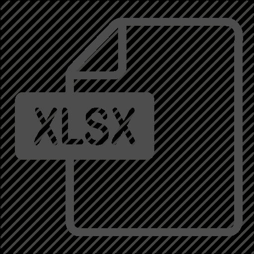 Document, Excel, File, Xlsx Icon