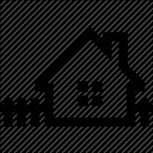 Fence, Garden, Home, House, Yard Icon