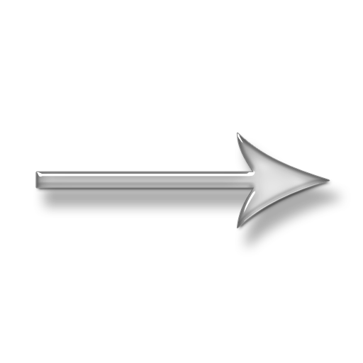 Right Arrow Transparent Quote Words Set One Word Only