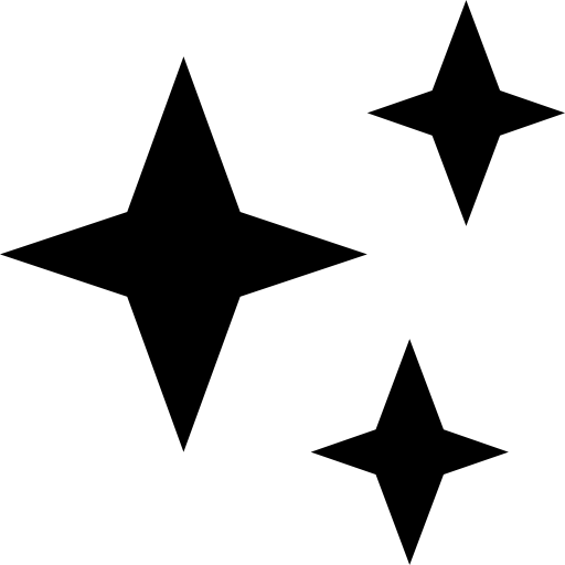 Stars Weather Symbol Of Three Shapes Icons Free Download