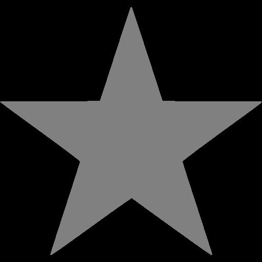 Gray Star Icon