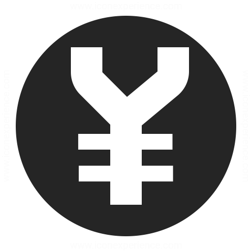 Currency Yen Icon Iconexperience