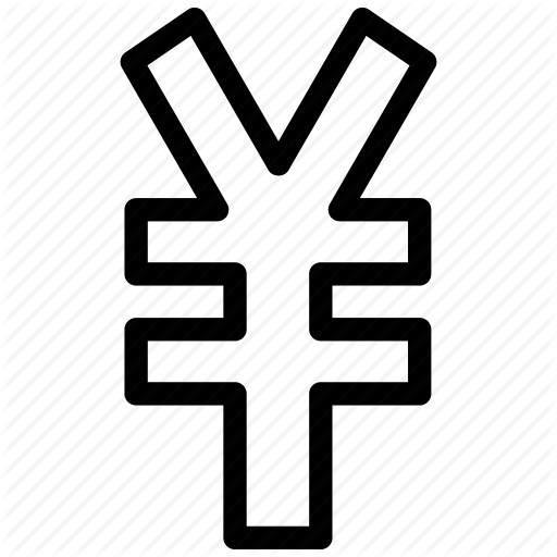 Currency, Financial, Japanese, Money, Sign, Yen Icon
