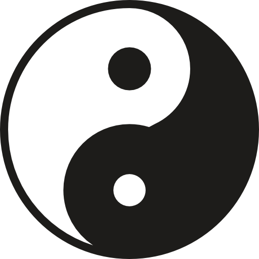 Yin Yang Symbol Icons Free Download