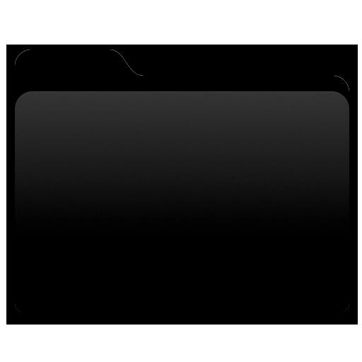 Yosemite Black Folder