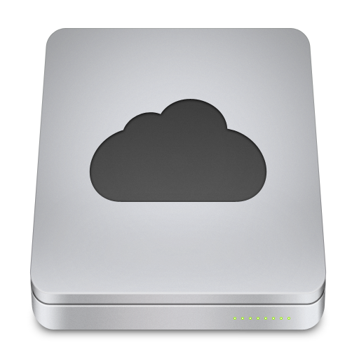 Pictures Of Cloud Storage Icon Png