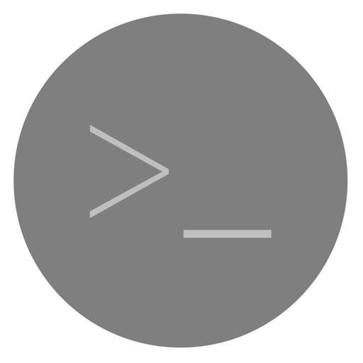 Utilities Terminal Icon Dynamic Yosemite Iconset