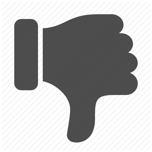 Youtube Dislike Transparent Png Pictures