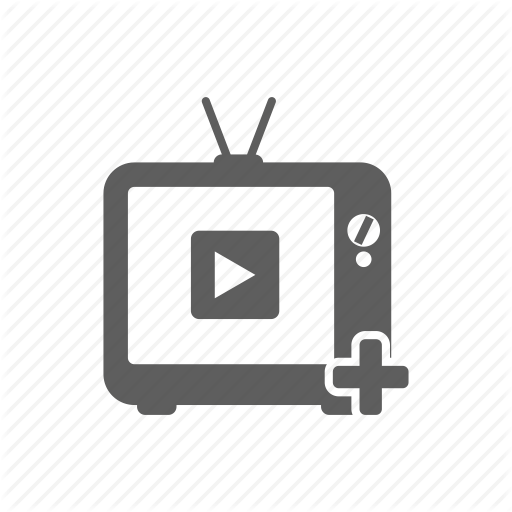 Add, Channel, Monitor, Television, Tv, Youtube Icon