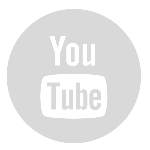 Circle, Gray, Youtube Icon