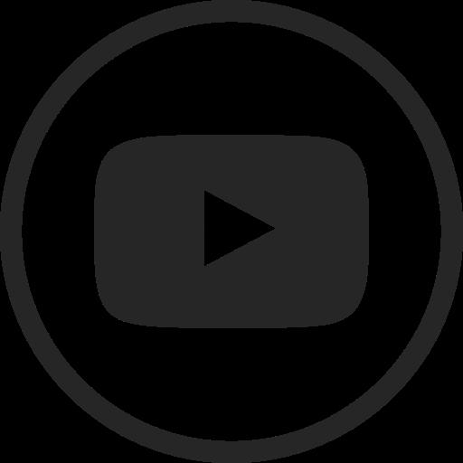 Circle, High Quality, Media, Social, Social Media, Video, Youtube Icon