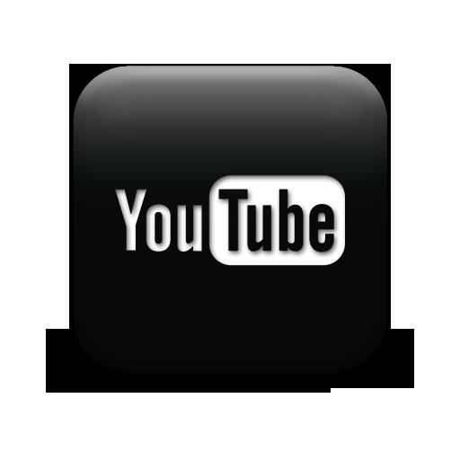 Youtube Icon Black