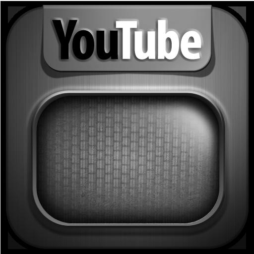 Grey Youtube Icon