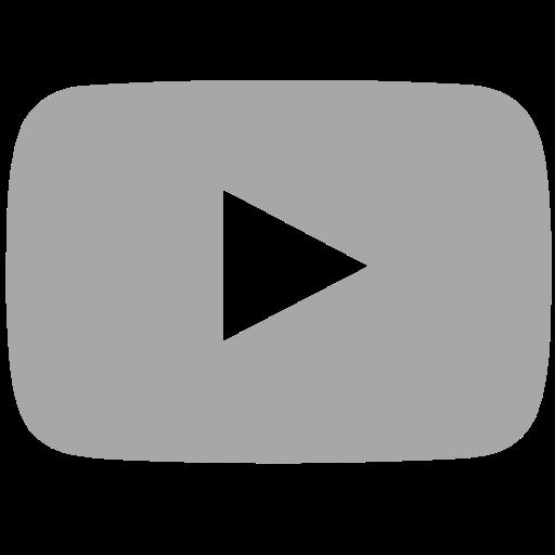 Icono Youtube La Red Social Gratis De Grey Icons Logo Image