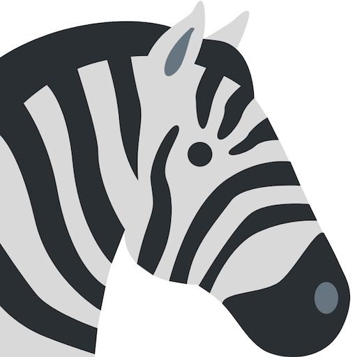 Cropped Zebra Chil Icon Changes In Longitude
