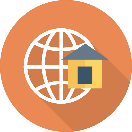 Home Icon Network And Communications Dinosoftlabs