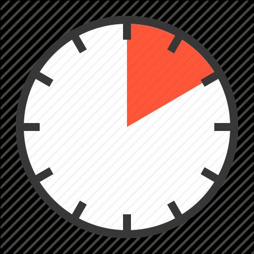 Min, Clock, Minute, Ten, Timer Icon