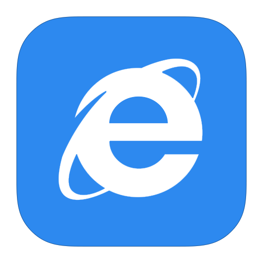 Metroui Browser Internet Explorer Icon Style Metro Ui