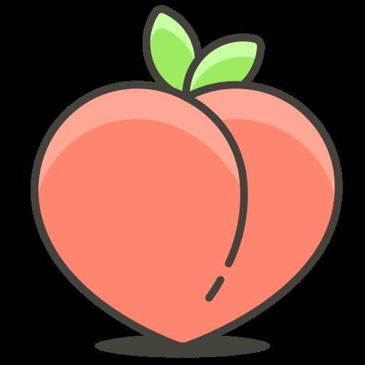 Peach Icon Free Of Free Vector Emoji