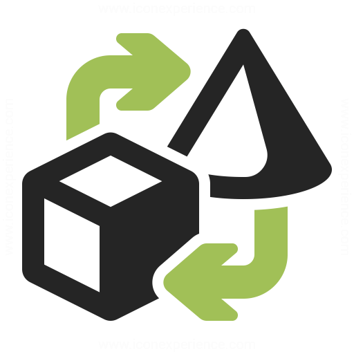 Objects Exchange Icon Iconexperience