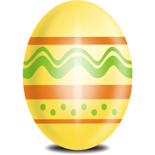 Yellow Egg Icon, Comes