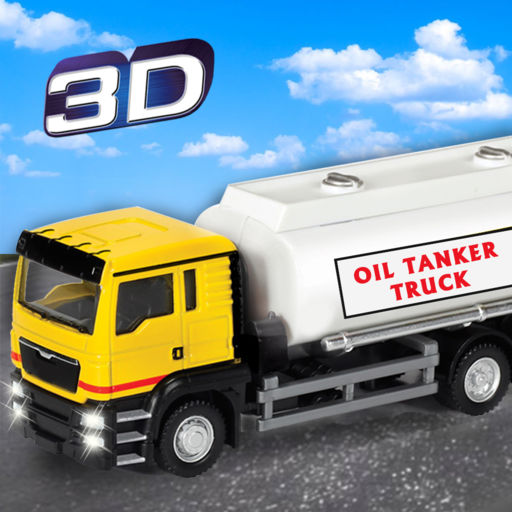 Big Oil Container Truck Simulator Realistic Transport Trailer