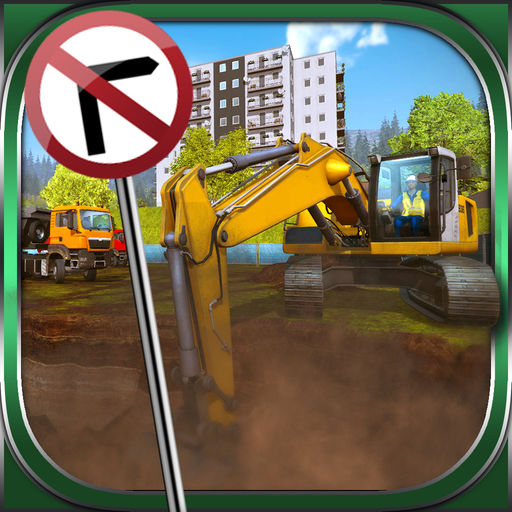 Euro Construction Machine Simulator Digger Wheeler Driver