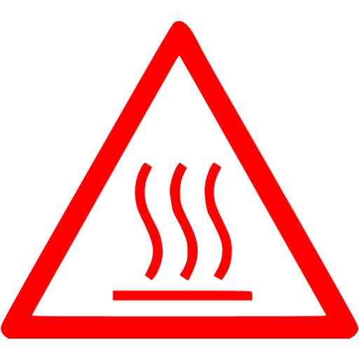 Red Warning Icon