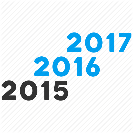 Annual, Calendar, Future, Level, Years Icon