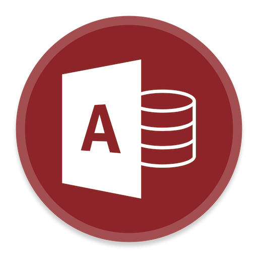 Access Icon Button Ui Ms Office Iconset Blackvariant