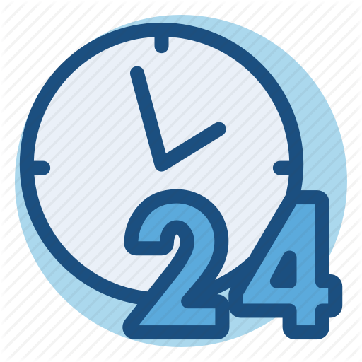 Hours, Commerce, Day, Delivery, Shopping Icon