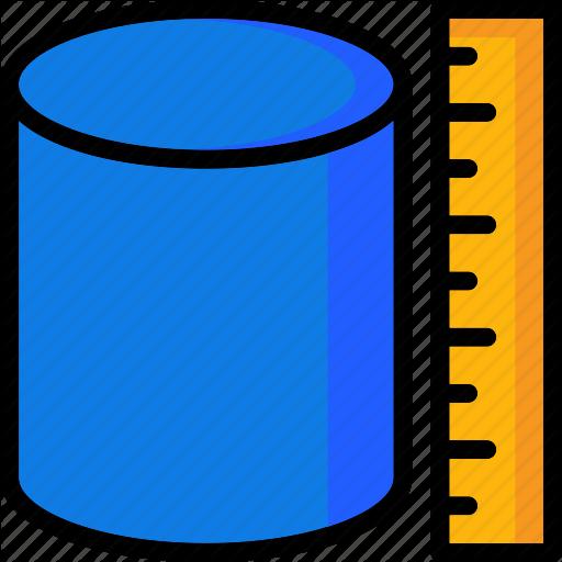 Cad, Colour, Design, Measure, Ultra, Volume Icon
