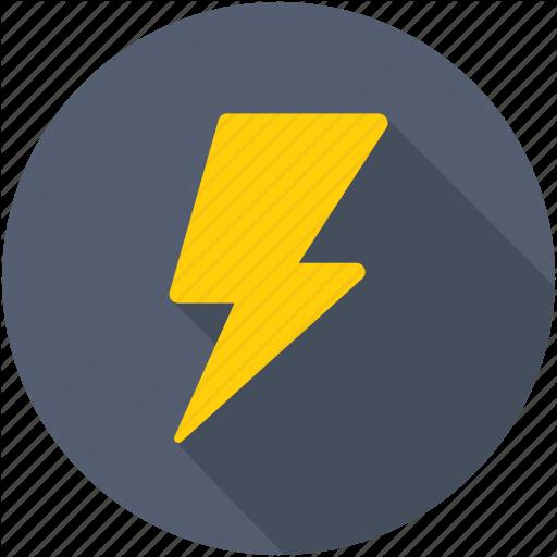 Bolt, Flash, Lightning, Thunder, Thunderbolt Icon