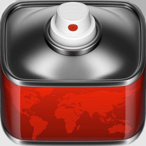 Graffiti World App Icon Design Icon Callejeros