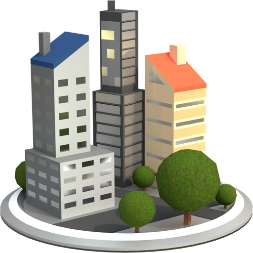 3d Building Icon at GetDrawings com | Free 3d Building Icon images